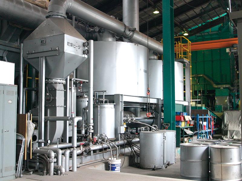 断熱材フロン回収機 1基